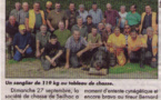 Article dans le journal local